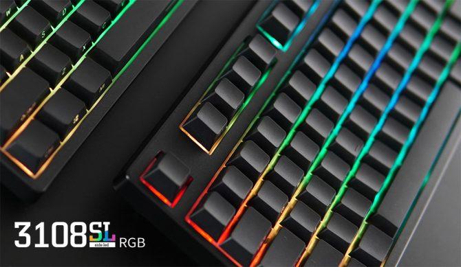 侧颜撩人!Akko Ducky发布3108 3087 SL侧刻RGB机械键盘