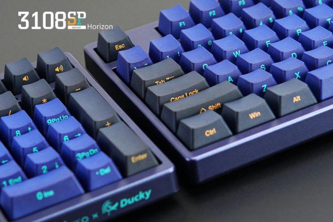 侧刻升级!Akko Ducky发布3108 3087SP地平线侧印特别版机械键盘