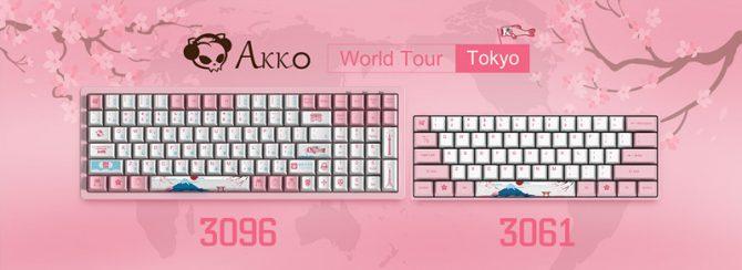 Akko发布全新3061 3096系列机械键盘产品