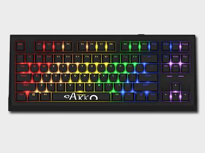 Akko Keyboard Classic87(AKC87)Rainbow