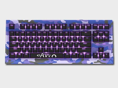 Akko Keyboard Classic87(AKC87)Camo