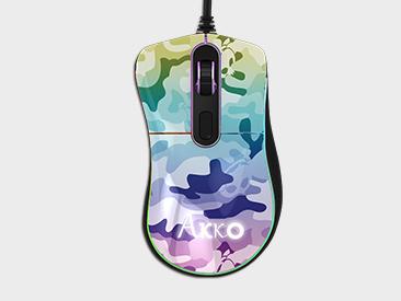 Akko Mouse Retro-复古猫 渐变迷彩