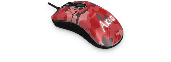 Akko Mouse Retro-复古猫 迷彩红