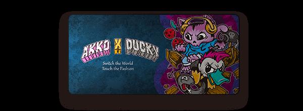 Akko X Ducky猫鸭大战鼠标垫