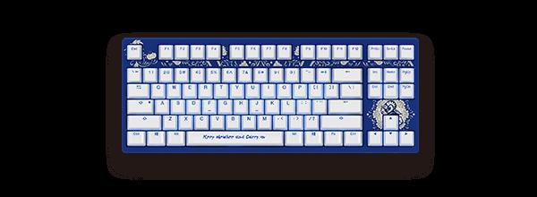 Akko X Newbee TI8 3087S机械键盘