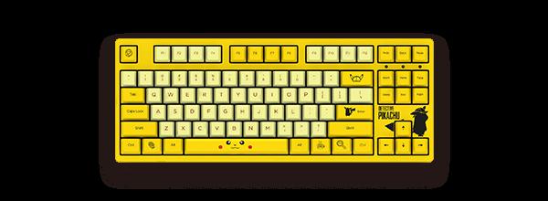 3087 大侦探皮卡丘机械键盘