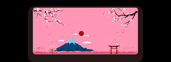 Akko World Tour – Tokyo东京鼠标垫