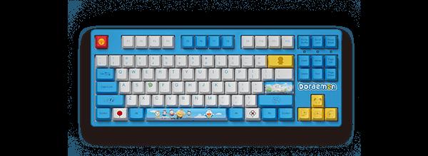 Akko 3087《哆啦A梦》联名 - 蓝白经典款