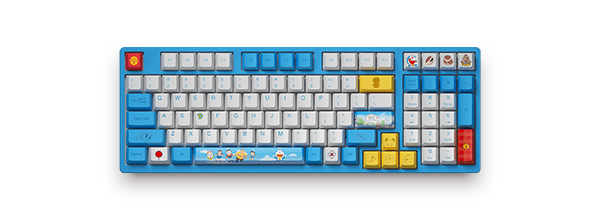 Akko 3098《哆啦A梦》联名 - 蓝白经典款